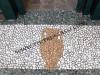 mosaico con ciottoli