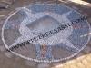 mosaico in ciottoli di fiume