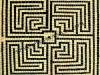 mosaico vetro labirinto