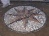 rosa dei venti mosaico decorazione