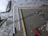 mosaico di tessere in marmo
