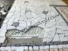 palladiana di marmo di Carrara