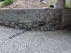 muro in pietra di luserna blocchi e liste da muro
