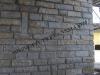 muro in pietra fugato a malta