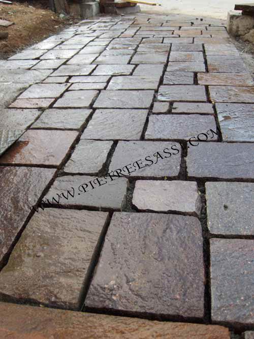Favoloso PIETREESASSI: pavimenti in pietra, rivestimenti e mosaici QE52