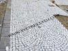 pavimento esterno in cubetti di granito