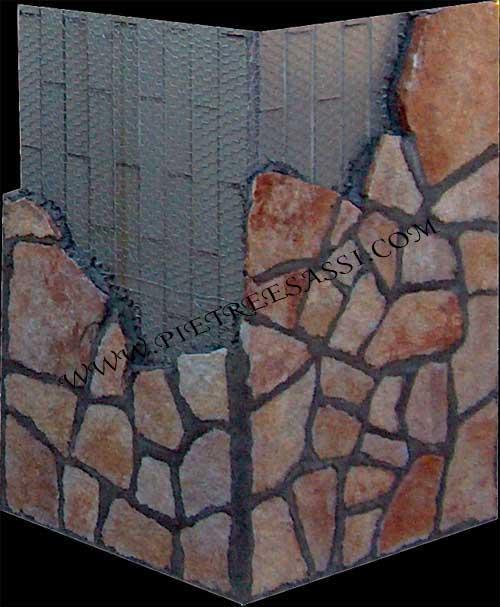 rivestimento colonna pietra di trani
