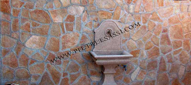 Rivestimenti in pietra pietreesassi - Piastrelle per muri interni ...