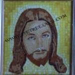 cristo mosaico in vetro