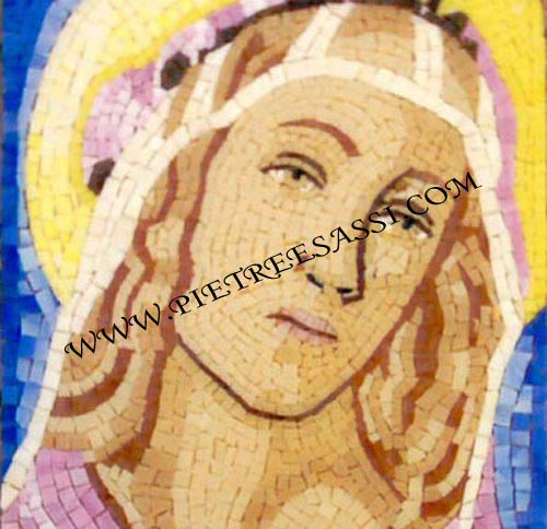 madonna botticelli mosaico