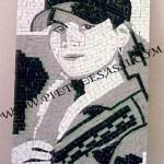 ritratto mosaico