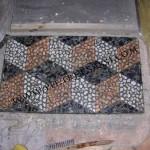 mosaico disarmato