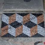 mosaico lavato