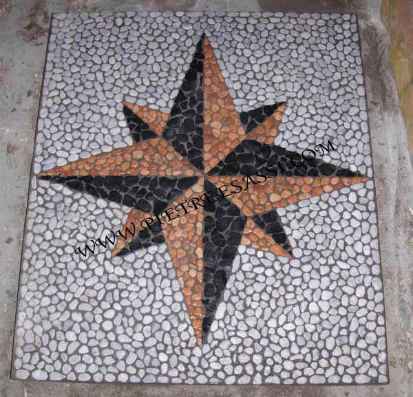 Ben noto mosaico per pavimento | PIETREESASSI XQ99