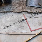 pavimento da rivestire con mosaico