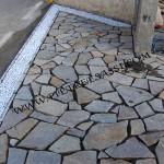 posa del porfido a mosaico