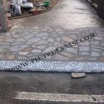 pavimentazione ingresso cortile