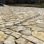 mosaico di pietra di Trani