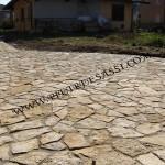 pietra di Trani a mosaico