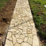 vialetto in pietra di Trani