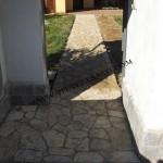 pavimento ingresso in pietra