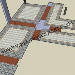 progetto pavimento interno in pietra