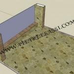 progetto pavimento e rivestimento in pietra