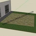 progetto pavimento cortile