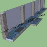 progetto marciapiede in pietra