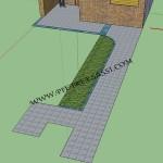 progetto ingresso pedonale