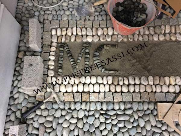 lavori di posa mosaico